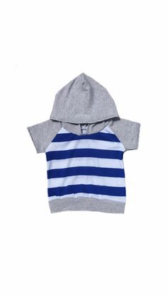 Gray, blue and white stripes, Light weight, t shirt short sleeve sweatshirt, hoodie, babies/toddlers/children, baby girl, baby boy, gender  by Allsnazziedup on Etsy https://www.etsy.com/listing/236197758/gray-blue-and-white-stripes-light-weight