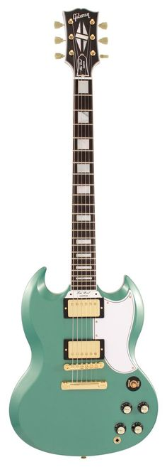 Gibson Custom Shop Electric Guitar SG Custom 2 Pickup Inverness Green