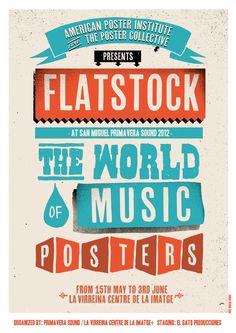 Primavera Sound Barcelona - Flatstock Exhibition