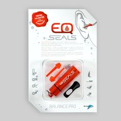 Surfer's ear....  EQ Seals Earplugs