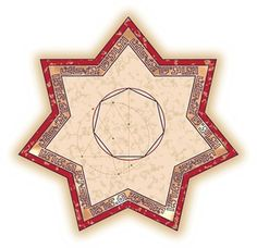 Reza Sarhangi (Iranian-born American, b. 1952) and Robert Fathauer (American, b. 1960), <em>Būzjānī's Heptagon,</em> 2007. Digital print, 13 × 13 in. (33 × 33 cm). Courtesy of the artists.
