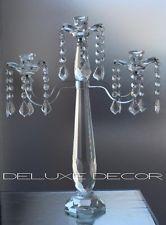 Elegant Crystal Glass Candle Holder Candelabra 2320