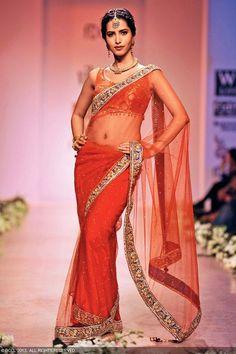 Manasvi Mamgai walks the ramp for Rocky S during Wills Lifestyle India Fashion Week