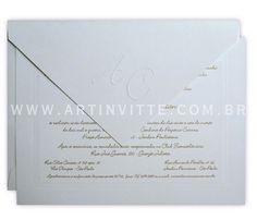 Convites de casamento Amsterdã - Art Invitte Convites 11.5031-6383