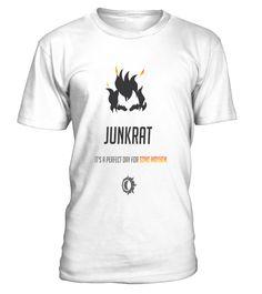 Overwatch Junkrat  #videogame #shirt #tzl #gift #gamer #gaming