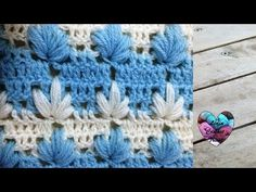 Crochet : Point magnifique facile. Punto maravilloso tejido a crochet, My Crafts and DIY Projects