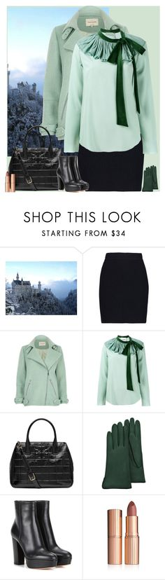 """""""Untitled #3159"""" by gita016 ❤ liked on Polyvore featuring Helmut Lang, River Island, Chloé, Tory Burch, Forzieri, Gianvito Rossi and Charlotte Tilbury"""