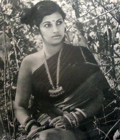 Portrait of Dimple Kapadia - c1960-70's - Old Indian Photos