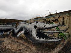 Phlegm - Isle of Man - abandoned pool