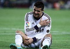 El hombro de Cristiano Ronaldo