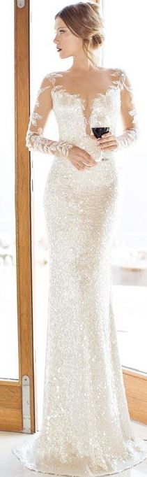 A beautiful wedding dress. Lots of personality and not like all the strapless gowns you see everywhere. http://weddings.momsmags.net
