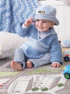 Polo Pullover   Yarn   Free Knitting Patterns   Crochet Patterns   Yarnspirations