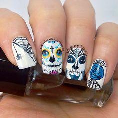 halloween by bedizzle #nail #nails #nailart