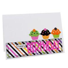 Cupcake Birthday Card by: katygodbeer