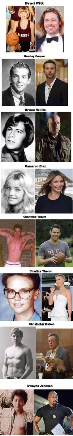 What Celebrities Looked Like As Teenagers - Part 2 of 2