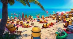 Minions @ Despicable Me 2. It's SUMMER, baby!