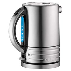 BuyDualit 72905 Architect Kettle, Brushed Steel / Black Online at johnlewis.com