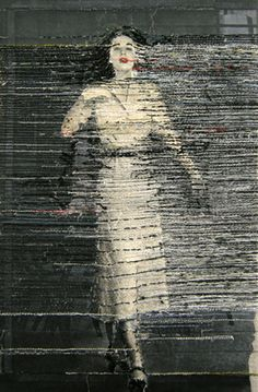 Hinke Schreuders, works on paper The renewed art of embroidered photographs - Design Observer. Art Fibres Textiles, Textile Fiber Art, Textile Artists, Art Fil, Bordados E Cia, Contemporary Embroidery, Paper Embroidery, Embroidered Paper, Crewel Embroidery