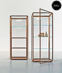 45°/vetrina cabinet by Ron Gilad for Molteni. > BEST OF MILAN DESIGN WEEK 2013 > http://www.yatzer.com/best-of-milan-design-week-2013