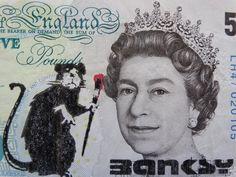Banksy note