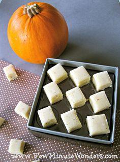 Macadamia Nut Fudge / Macadamia Nut Katli -ready in 10 mins from your microwave!
