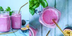 ROSA GRØNNSAKS SMOOTHIE | søt og god | Desiree Andersen        4 biter frossen blomkål      4 båter frossen rødbet      1 dl bringebær      1 scoop vaniljeprotein eller 1 dl sukkerfri vanilje yoghurt      vann til ønsket konsistens