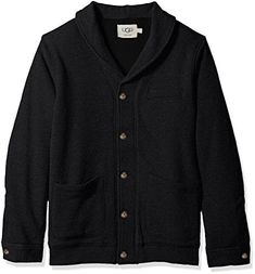 """Product review for UGG Men's Sherpa Lined Shawl Cardigan.  Signature bonded sherpa cardigan is cozy fleece on the inside       Famous Words of Inspiration...""""I think the best possible social program is a job.""""   Ronald Reagan — Click here for more from Ronald..."""