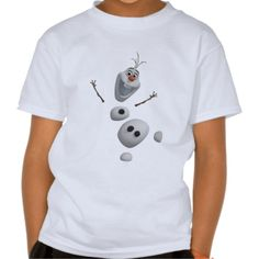 Disney, Frozen, Olaf in Pieces Tee Shirt. Kids' Basic Hanes Tagless ComfortSoft® T-Shirt, regularly $18.95. Click for more sizes, styles, and colors.