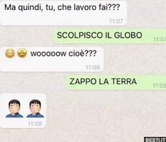 Funny Video Memes, Funny Jokes, Hilarious, Super Funny, Really Funny, Funny Photos, Funny Images, Funny Chat, Italian Memes