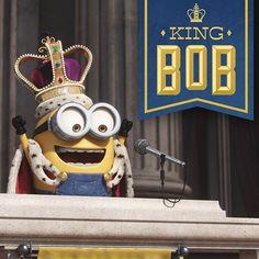 King Bob! #Minions
