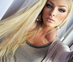 Dare I go this blonde? Alena Shishkova