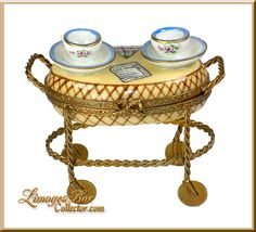 TEa FoR TWo TRaY CaRTe LiMoGeS BoX ____Retired