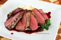 Food for Hunters: Goose Breast with Rosemary Fig Sauce