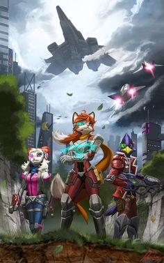 Ground Mission, Star Fox, Nora, Falco, Fay