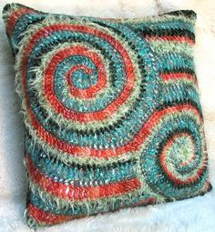 crochet. LOVE this. Shut up. it's not the colors I would choose (that's sort of southwestern) but the design is FAB.