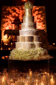 For us the wedding cake has to represent each one of our clients and their special day as the wedding cake is the centrepiece of the wedding. Saturday 5th December 2015 marks a new journey for the couple and with that in mind we decided to make this a focal point of the creation.