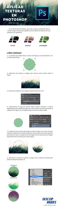 Texturas en photoshop #ikkiware #tutorial #texturas #photoshop