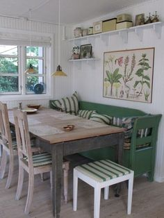 BRABBU Design Forces – Contemporary Home Furniture - Esszimmer ideen Swedish Cottage, Swedish Decor, Scandinavian Cottage, Swedish Kitchen, Swedish Style, Cottage Chic, Cottage Style, Swedish Farmhouse, Swedish Interiors