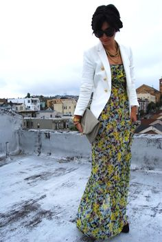 I need more floral maxis. Who am I kidding? I need A floral maxi...