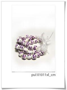 Pulsera Pul 01011XL_C    Divertida pulsera realizada con perlas de cerámica!!!