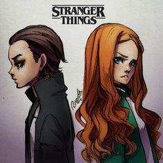 Resultado de imagen para dibujos de stranger things