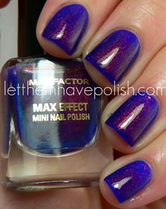 Max Factor Max Effect Mini's - Fantasy Fire (over blue)