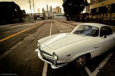 Exploring Downtown LA in an Alfa Romeo Sprint Speciale