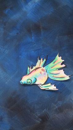 Fish below