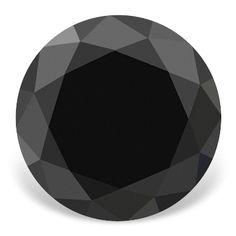 Black Loose Diamonds 10 34 Carat A A Fine Quality Round Brilliant Loose Black Color Natural Diamond http://www.diamondzul.com/