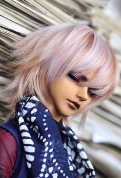 BJD-Doll-Hair-Wig-6-7-1-6-SD-DZ-DOD-LUTS-Multi-color-Short-Turn-up