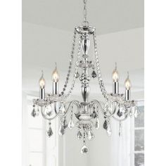 Round Crystal Chandelier | Chandeliers, Choices and Rounding