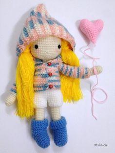 My crochet doll no.2
