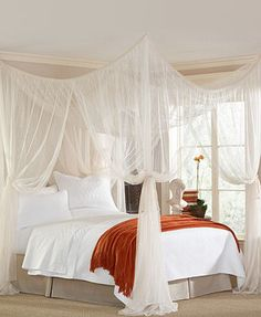 Mombasa Bedding, Majesty Canopy from Macy's ($50) So elegant but not so much that you lose the comfortable essence of your bedroom.