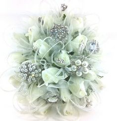 Beautiful Brides Brooch Bouquet